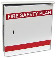 Fire Safety Plan Boxes/Log Books