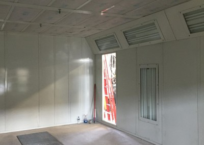 Regional Fire Services Inc - Paint Booth System Installation 1