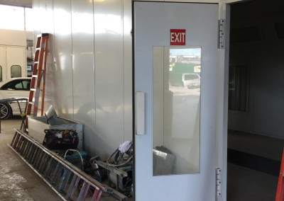 Regional Fire Services Inc - Paint Booth System Installation 2