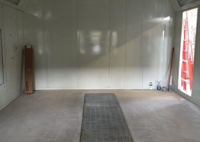 Regional Fire Services Inc - Paint Booth System Installation 3