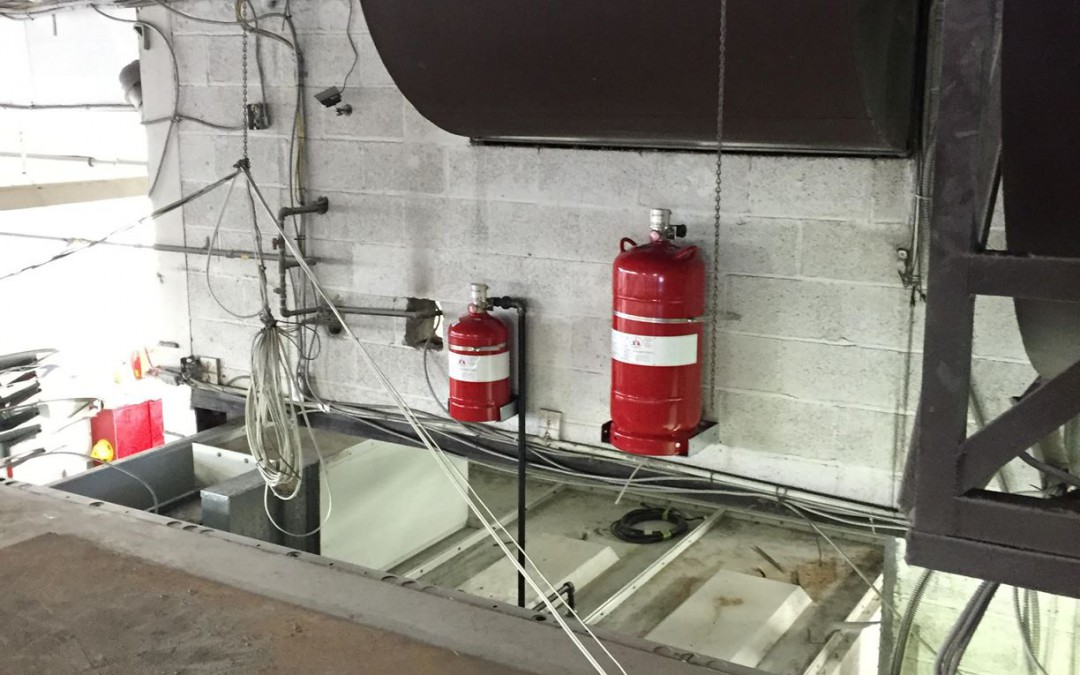 Paint Booth System Installation 1