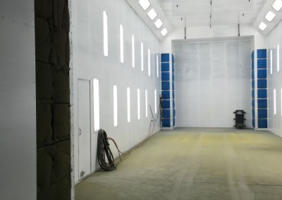 Regional Fire Services Inc - Panterra Helicopter Spray Booth System 5