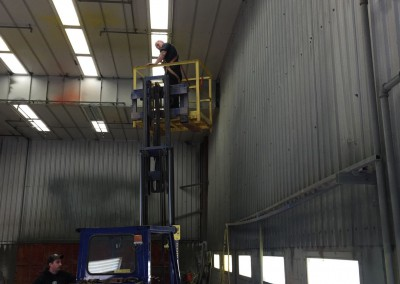 Regional Fire Services Inc - Walker Quarries Paint Booth System 2