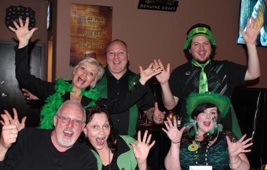 St Paddys Pub Night