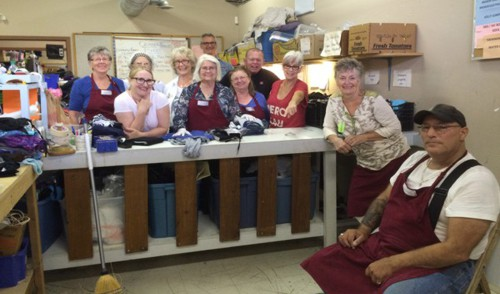 Volunteer at the Ridge Meadows Hospice Thrift Store