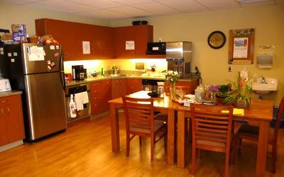 Common area kitchen