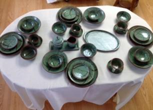 Stoneware Dish Set