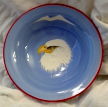 Porcelain Eagle Head Bowl (2)