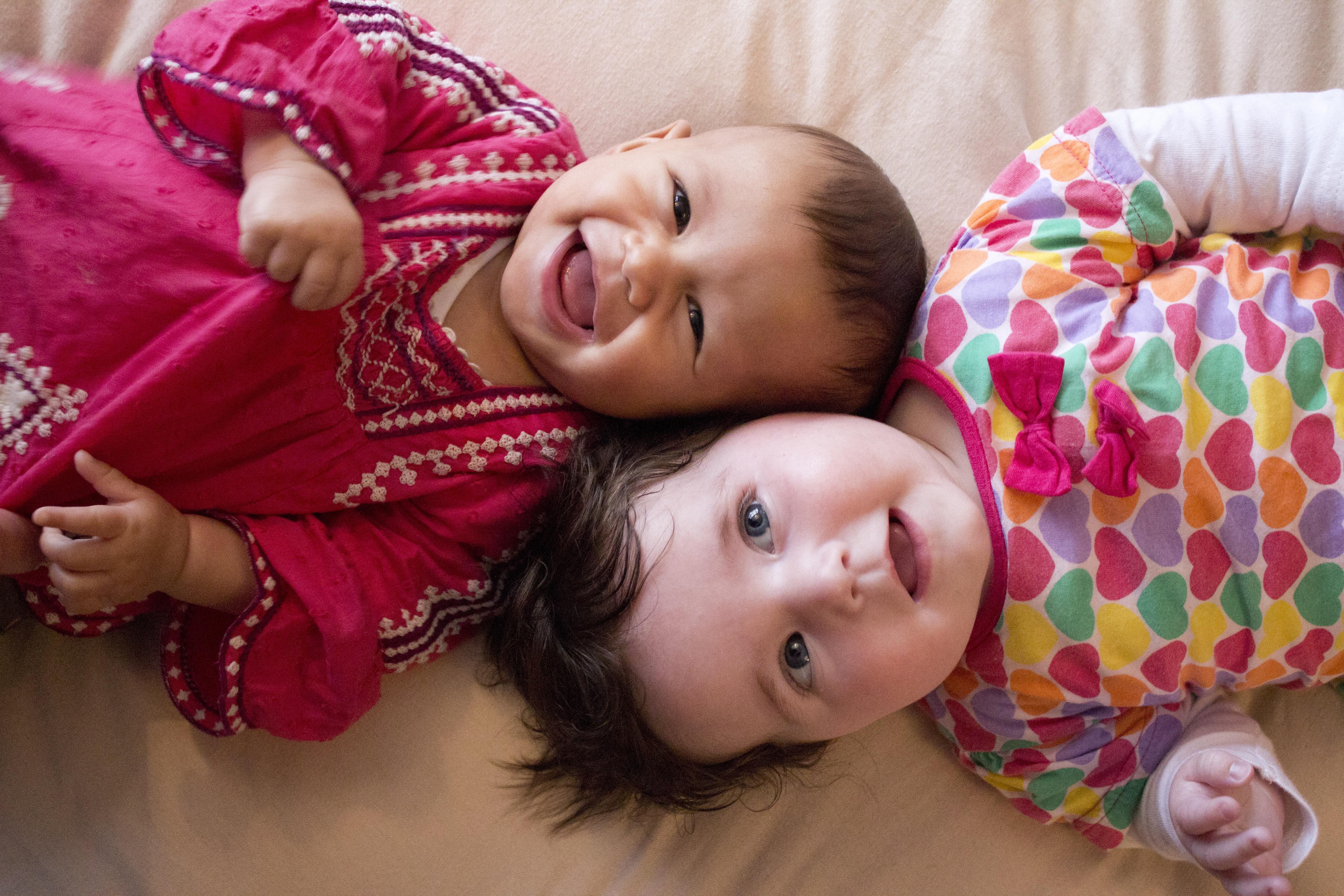 Canva - Cute Happy Children