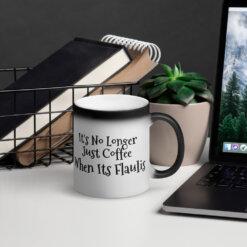 Magic coffee and tea mug