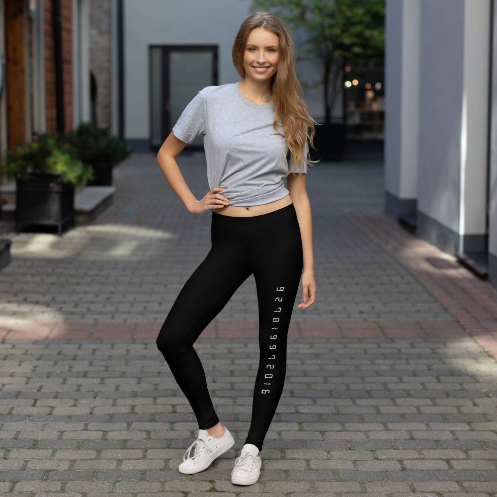 Digital 7 Leggings