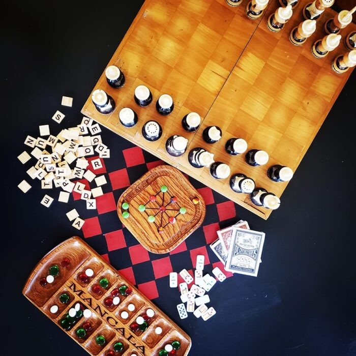 games to play at Red Porch Coffee