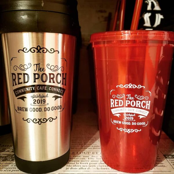 The Red Porch cups
