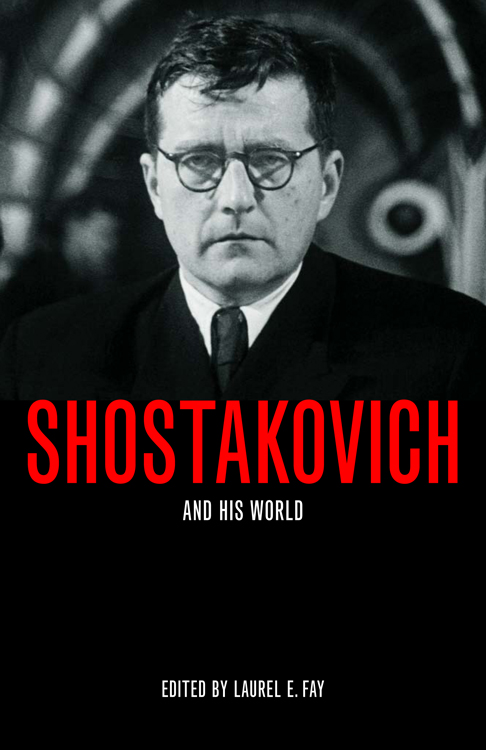 SHOSTAKOVICH BOOK COVER