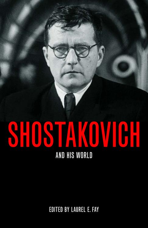 SHOSTAKOVICH BOOK COVER