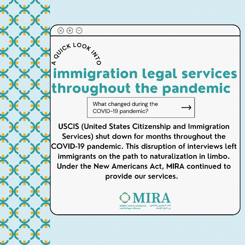 Pandemic Effects on Immigration Services