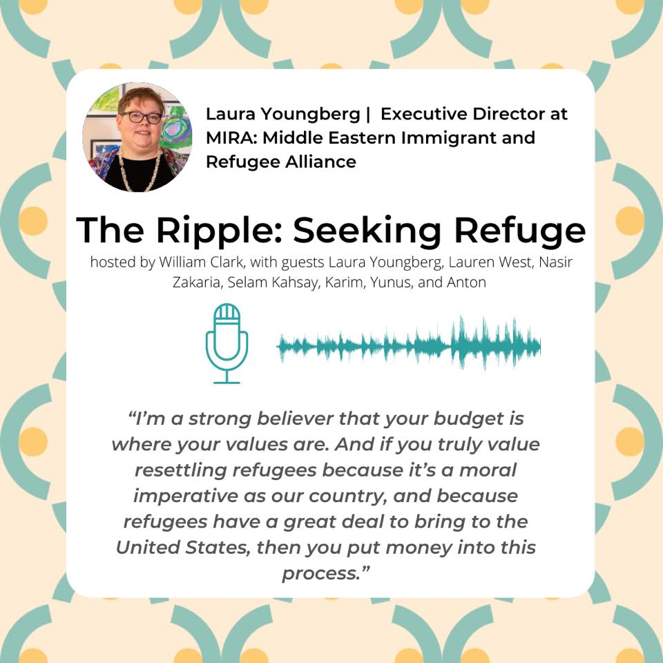 Ripple Podcast on Refugees Graphic