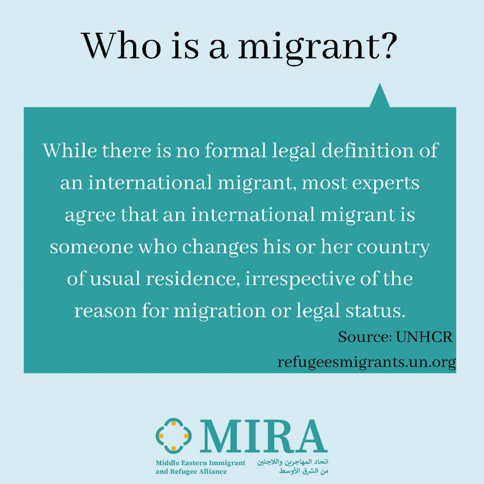Who is a Migrant