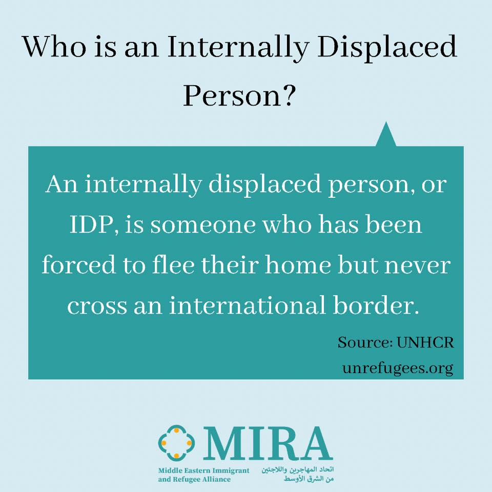 Who is an Internally Displaced Person
