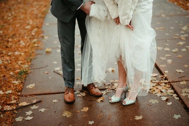 Fall wedding shoes