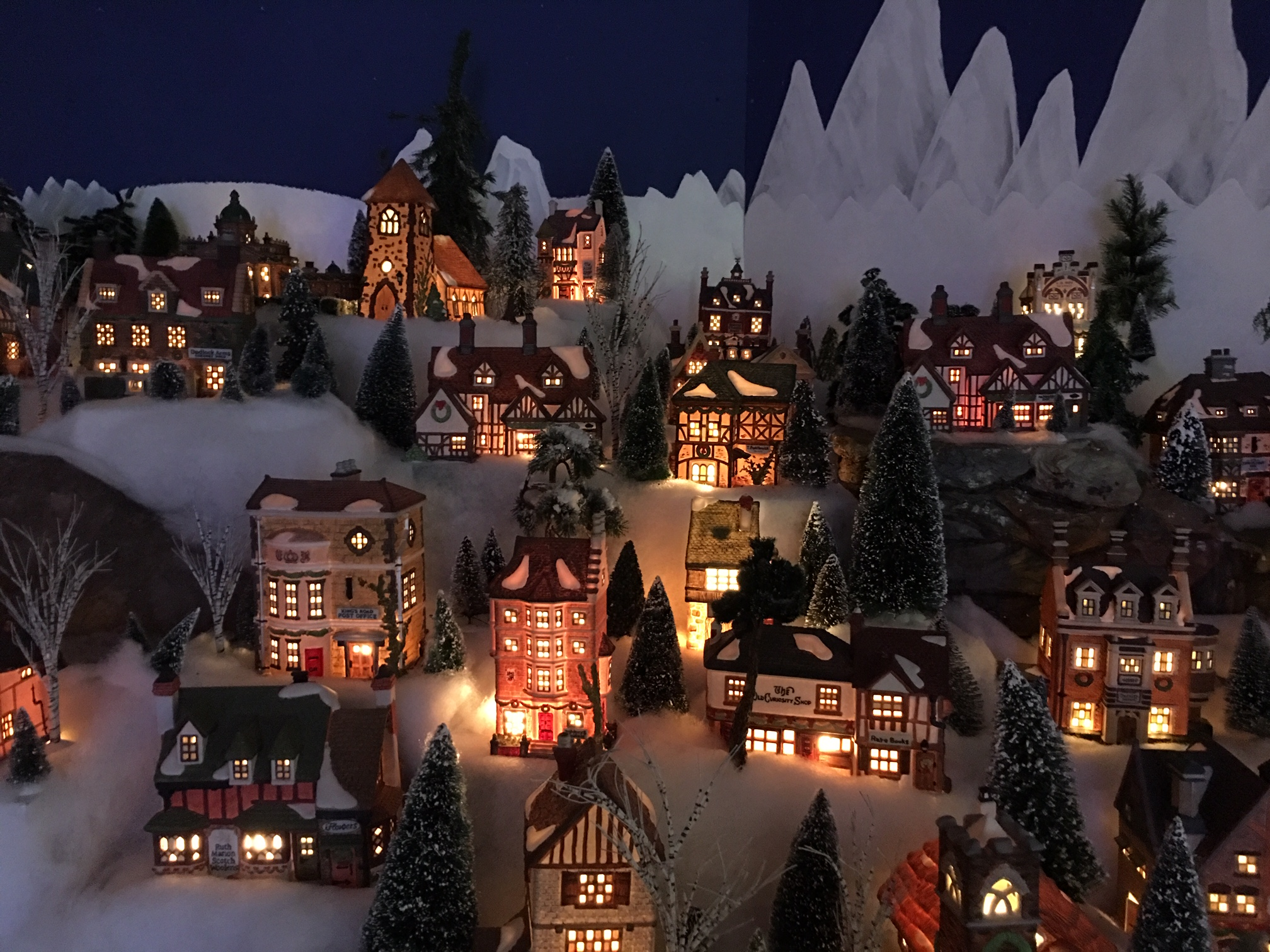 Enchanted Christmas Village 2020 Enchanted Christmas | Indoor Tour of Lights