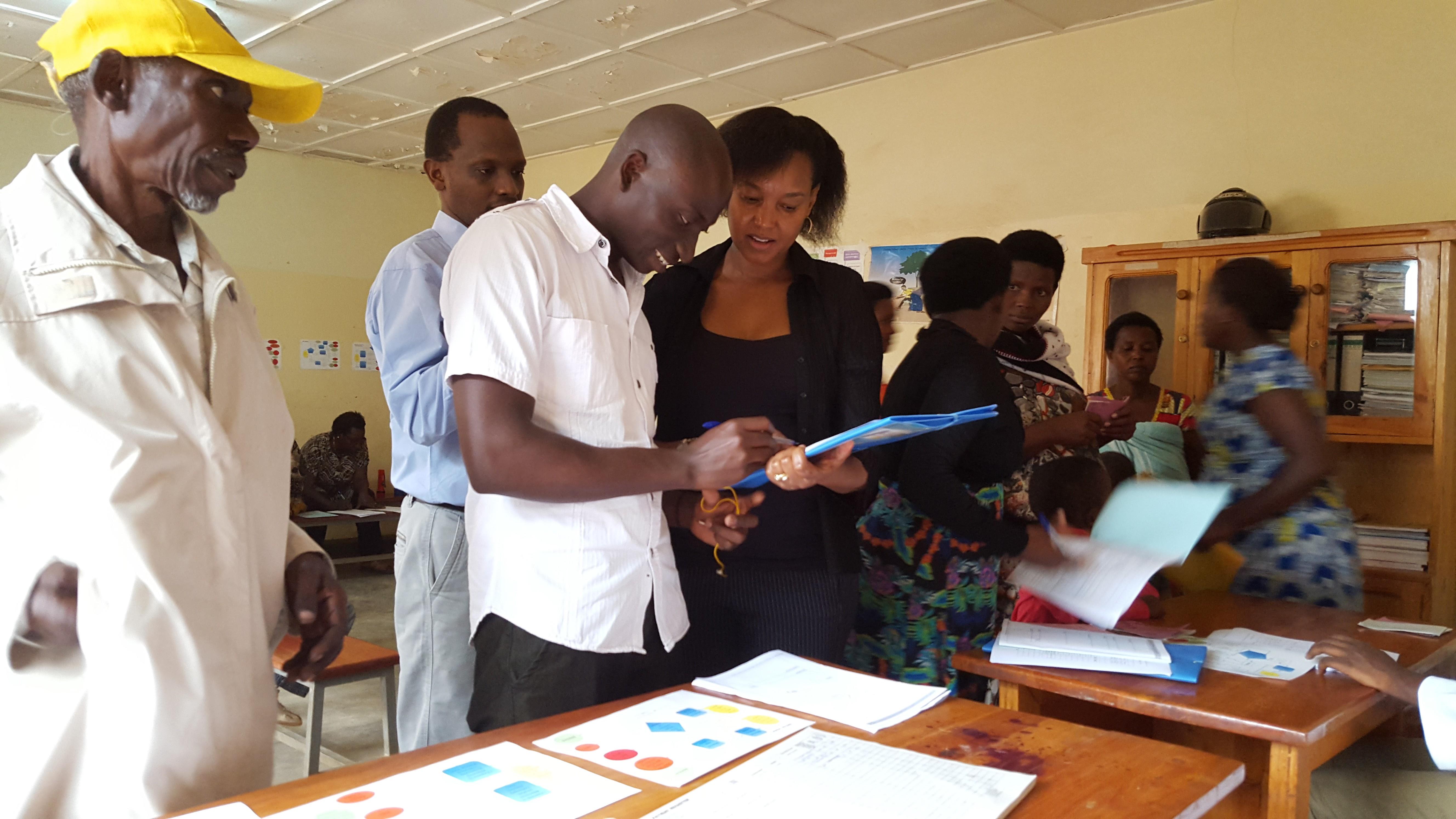 PEC Training for nurses Rwanda 2