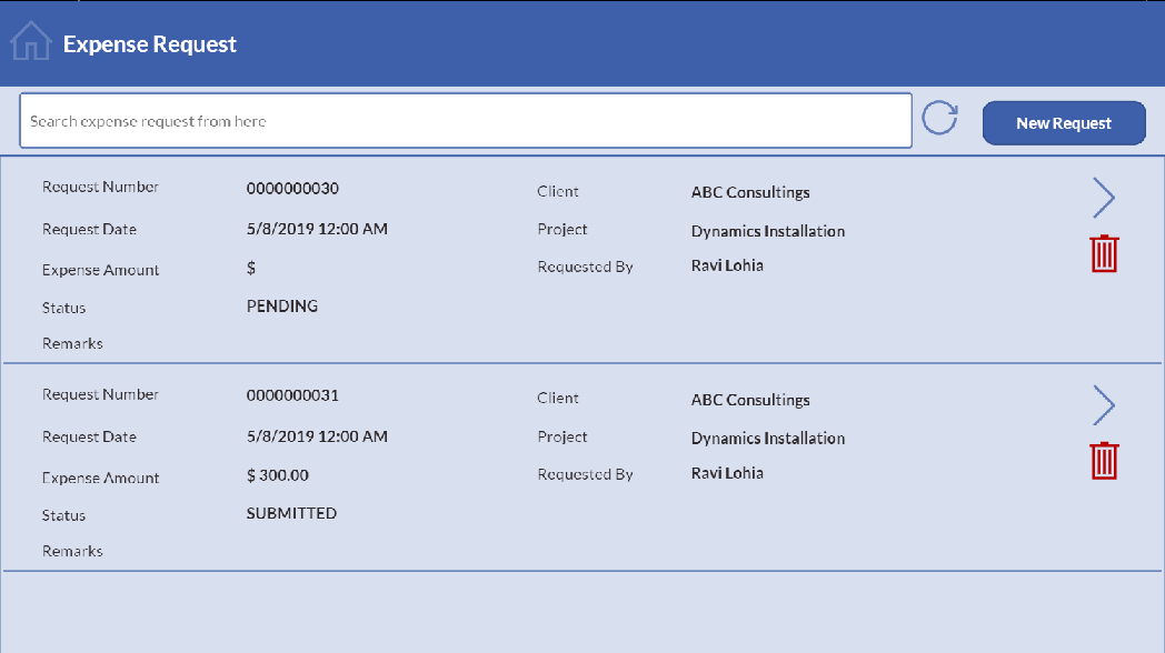 powerapps expense report 1 vnb consulting