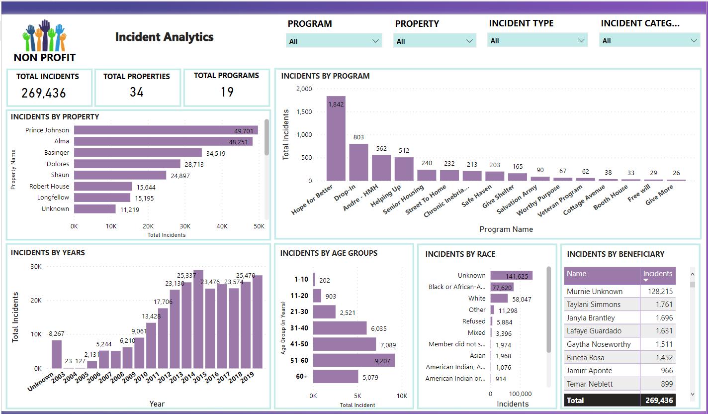 power bi non profit dashboard vnb consulting 3