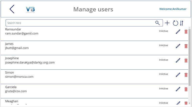 power apps leave request user management