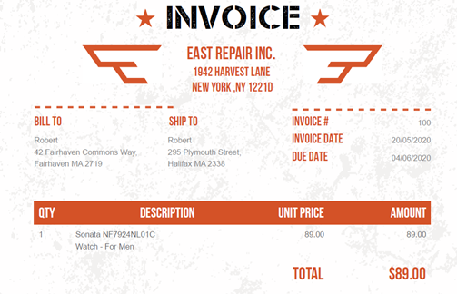 VNB Consulting Power Automate Robotic Process Automation Invoice