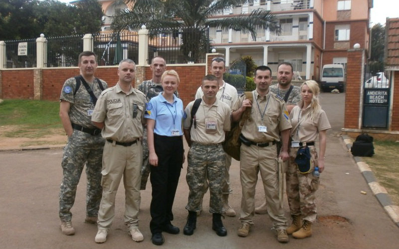 Participation of police officers of Bosnia and Herzegovina in peace-keeping operations of the United Nations