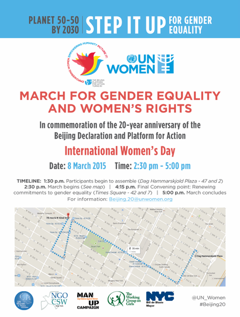 March for gender equality