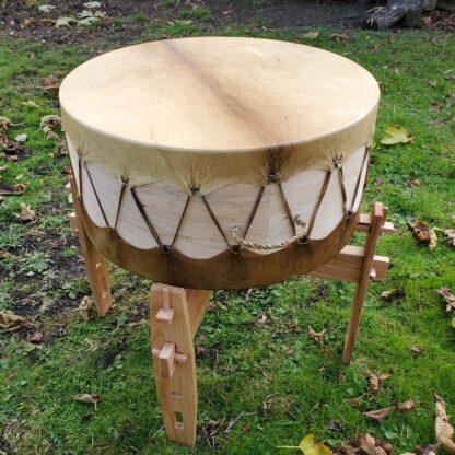 standing height powwow drum stand