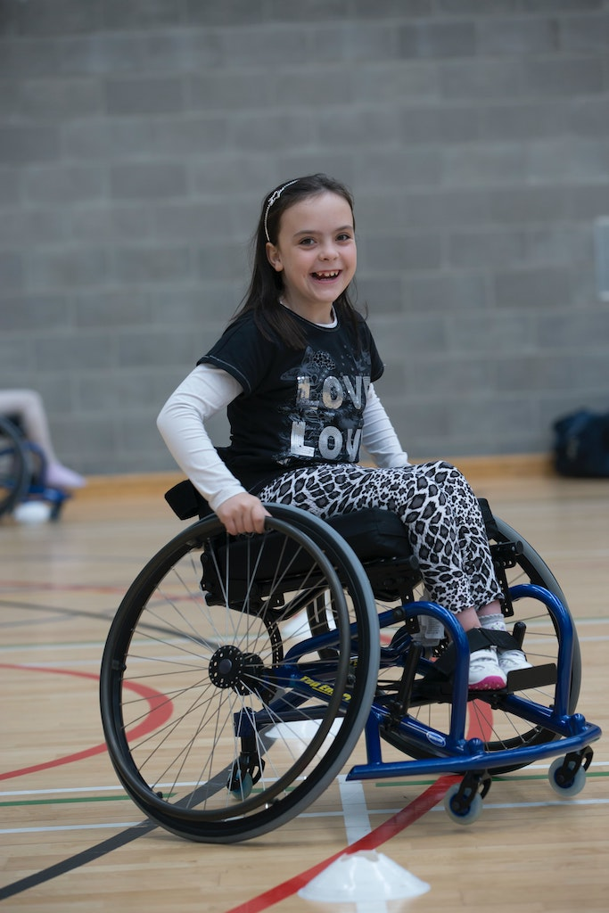 Young girl in wheelchair; Home Care Services Available from Best Care