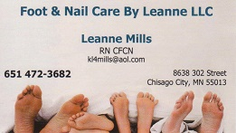 Foot and Nail Care by Leanne