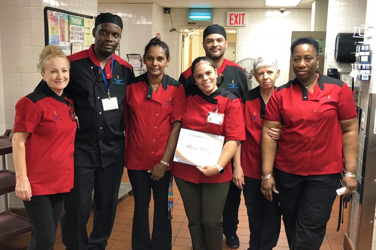 Providence Rest Dining Staff