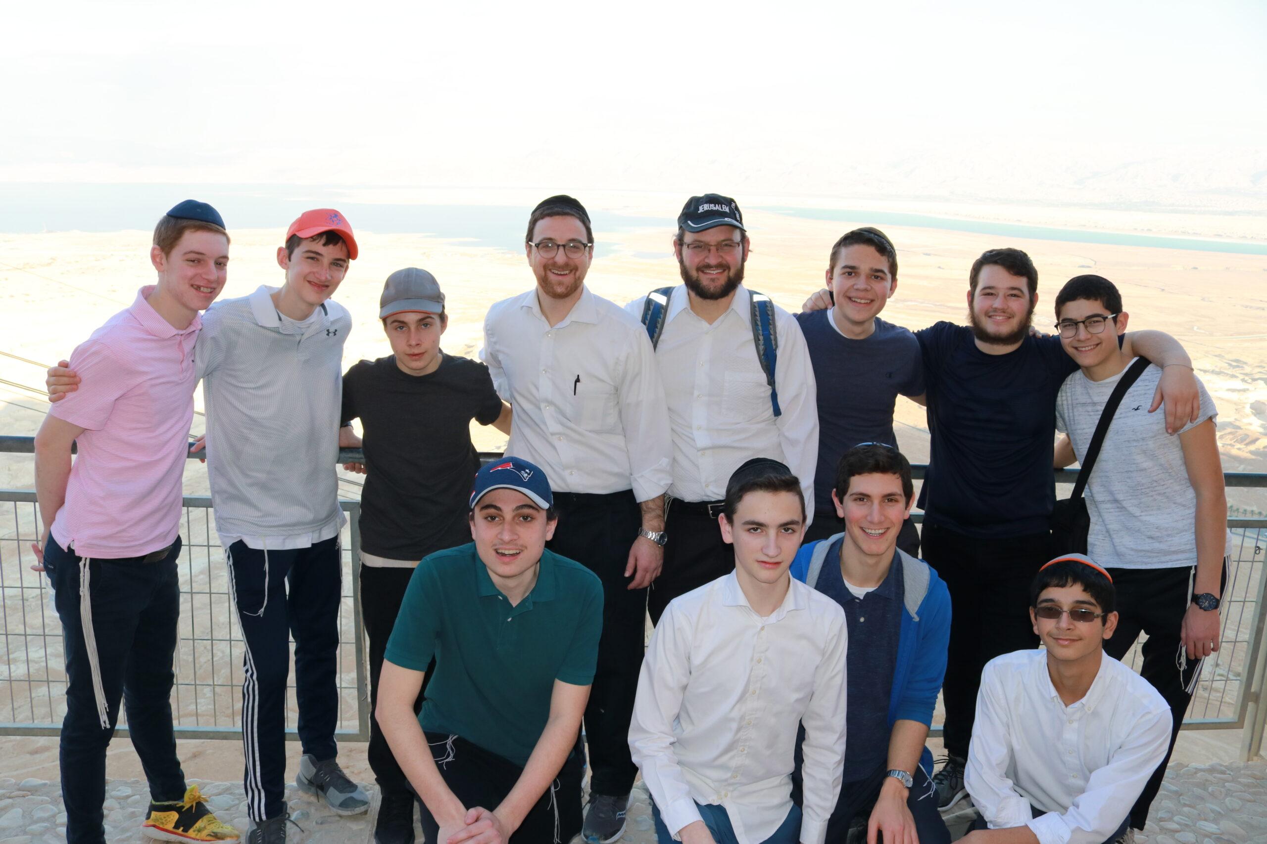 Students at Masada