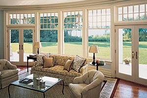 Marvin windows and French doors