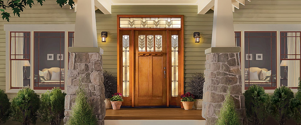 Therma-Tru Classic-Craft American Style Collection Villager front entry door