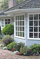 Replacement windows in this Oakland home