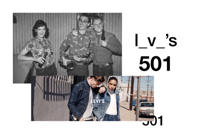 levis 501 antes y despues