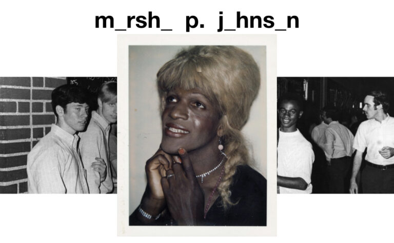 marsha p. johnson andy warhol