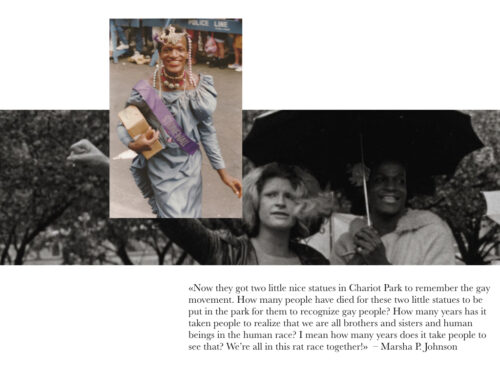 marsha p. johnson sylvia rivera