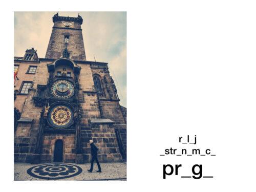 praga reloj astronómico