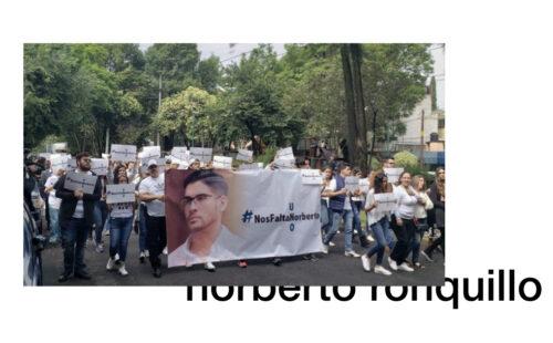 norberto ronquillo secuestro violencia en méxico marcha