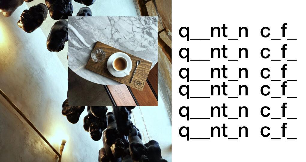 Qūentin Café taza