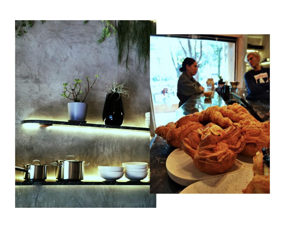 Qūentin Café barra