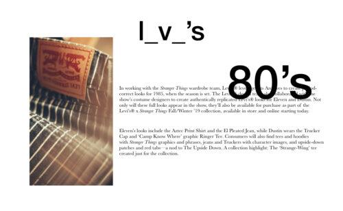 moda de los 80 portada levi's