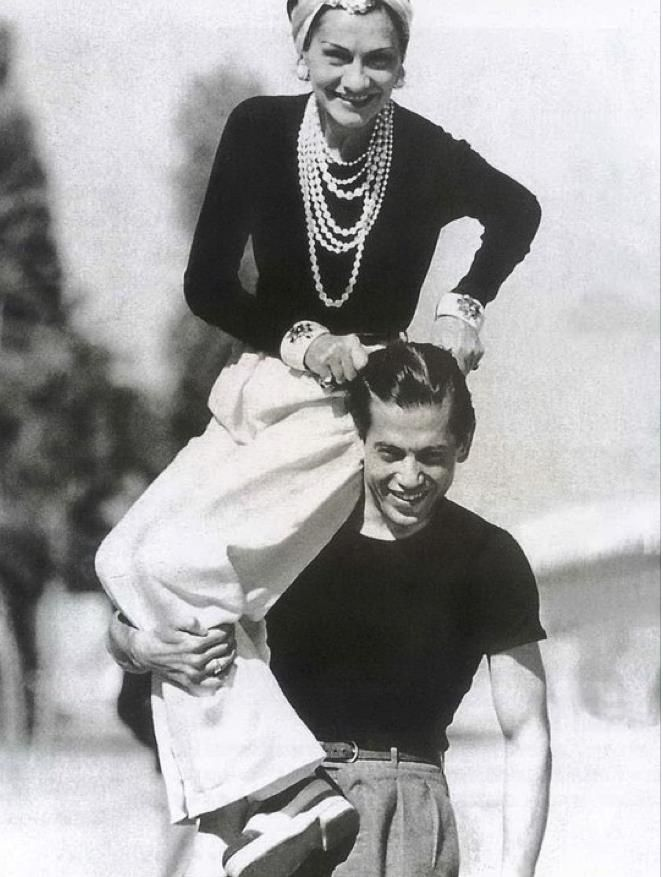 Chanel y Boy Capel