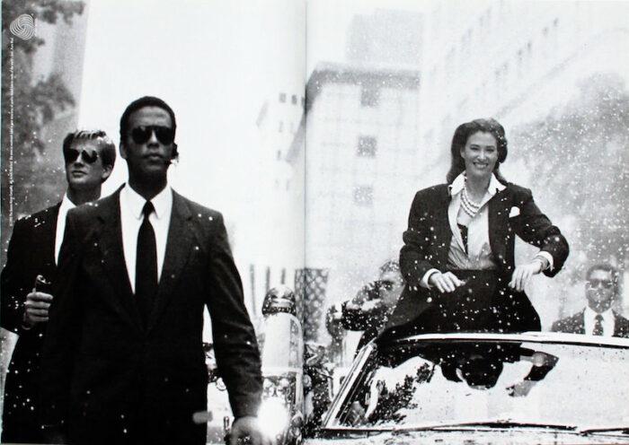 Donna Karan Campaign 1992